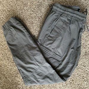 Poplin Jogger Pants